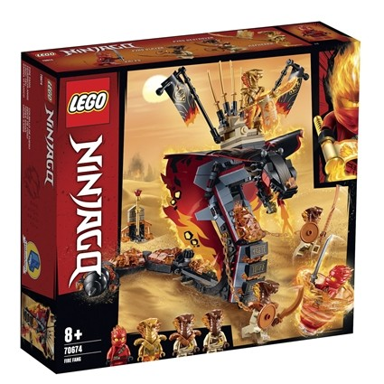 Lego ninjago ildtand